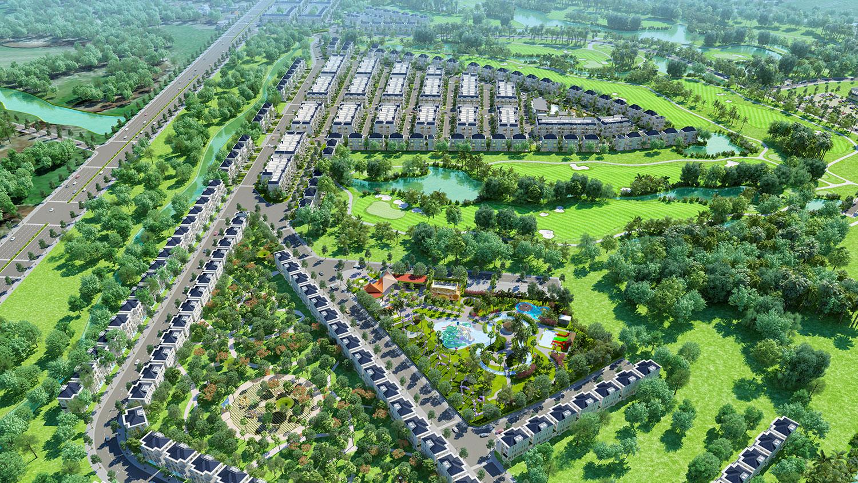 Vì sao dự án biệt thự sân Golf West Lakes Golf & Villas đáng để đầu tư?