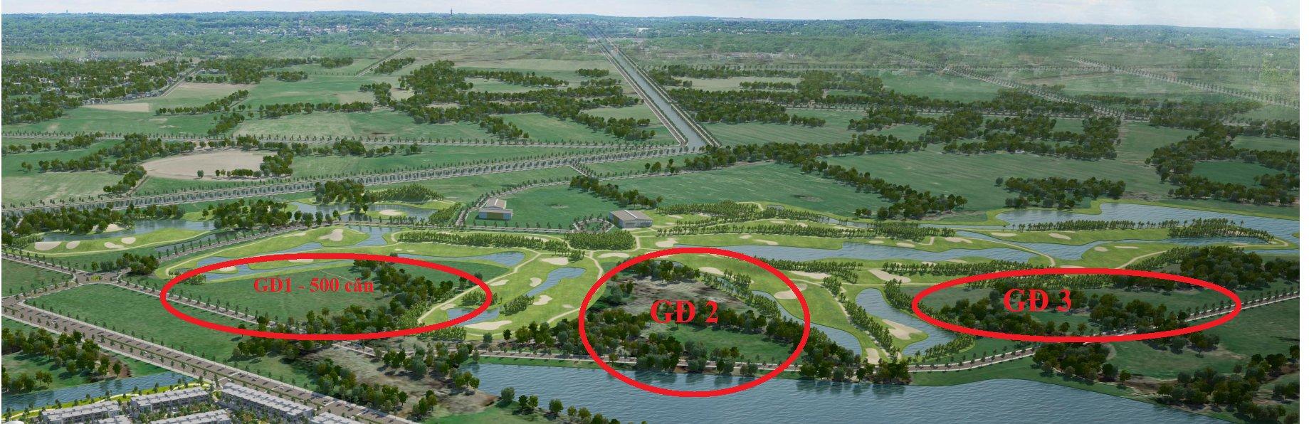 Hướng dẫn đường đi đến dự án biệt thự West Lakes Golf & Villas Long An
