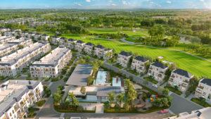 Tổ hợp giải trí và công viên nước nằm trong dự án West Lakes Golf & Villas