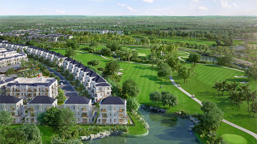 Bất động sản nghỉ dưỡng sân golf ngày càng thêm sức hút